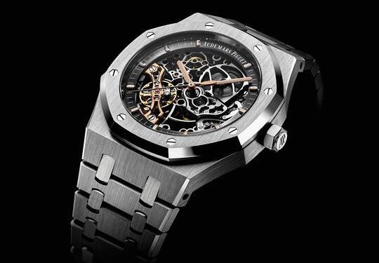 Audemars Piguet Royal Oak Openworked Double Balance Wheel