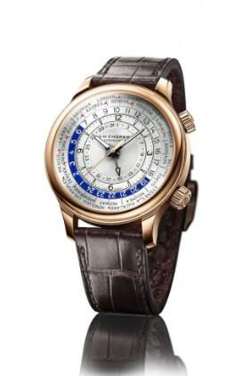Replica Chopard L.U.C Time Traveler One in rose gold