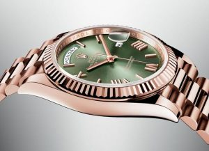 Replica Rolex Oyster Perpetual Day Date in Everose Gold