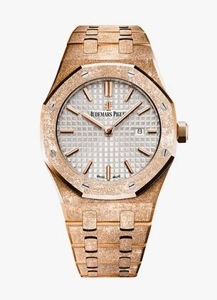 copy audemars piguet royal oak frosted gold