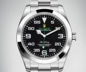 fake rolex air king