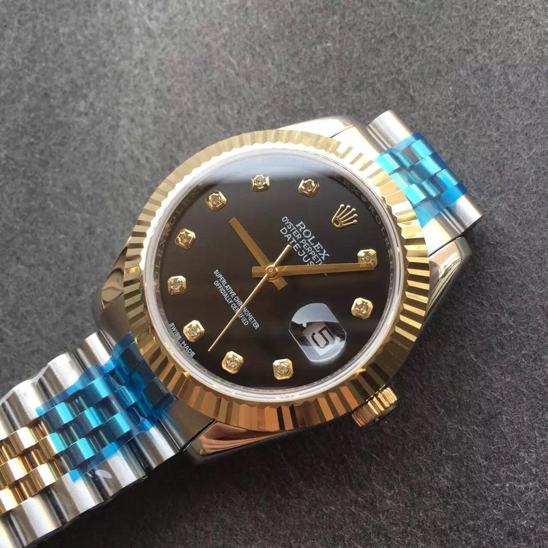 Replica Rolex 41mm Black Dial