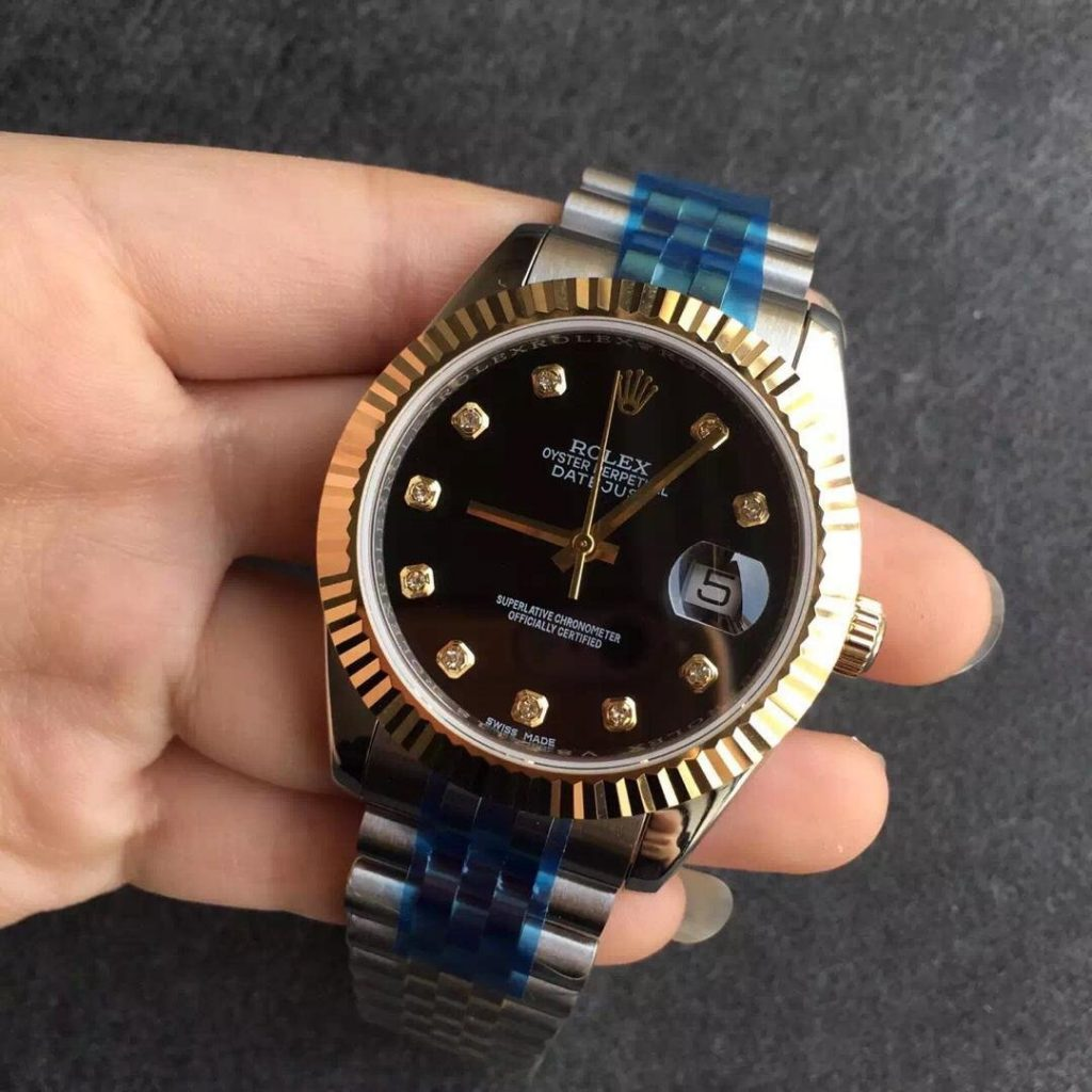 Replica Rolex 41mm Two Tone Watch